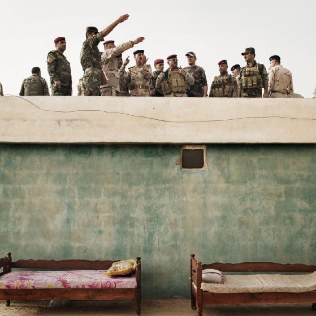 Makhmour, Iraq   May 13 2016
