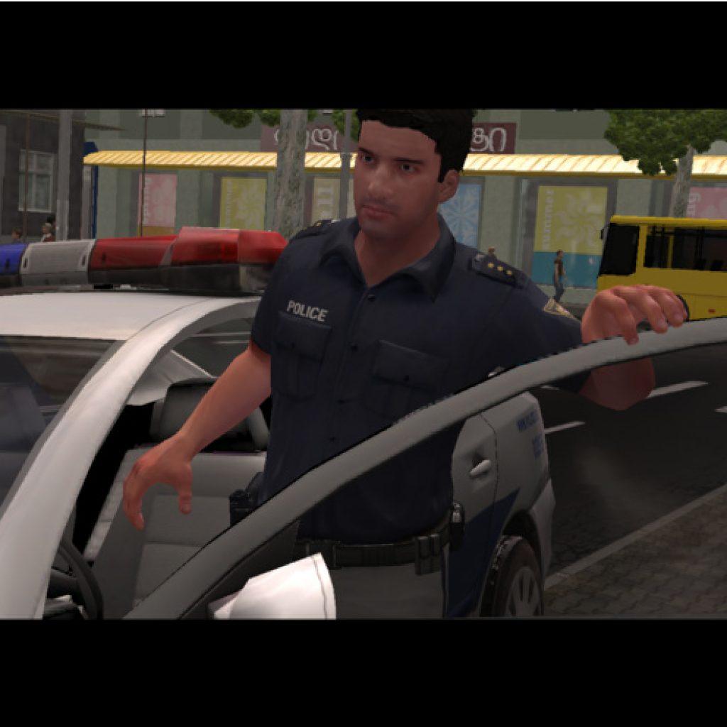 Игра «Полиция»