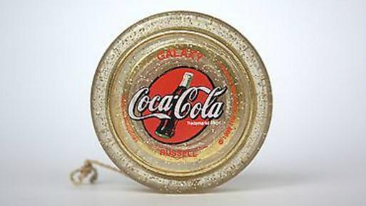 О золото йо-йо Galaxy от Coca Cola мечтали многие дети