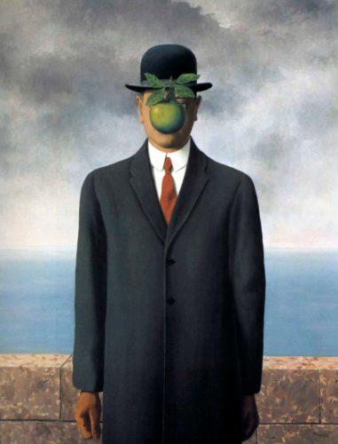 «Сын человеческий», Рене Магритт