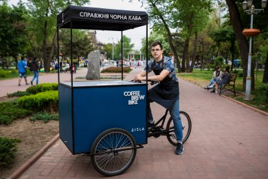Coffee Brew Bike
