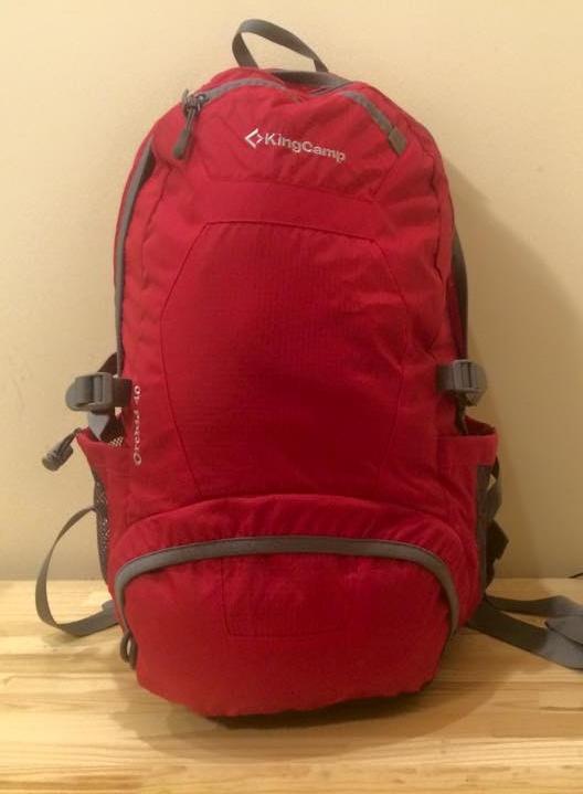 Рюкзак, с которым я езжу в путешествия длиной до нескольких месяцев