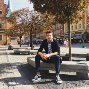 Андрей Хорцев во Вроцлаве, 2015 год, Фото: facebook.com/Horsev