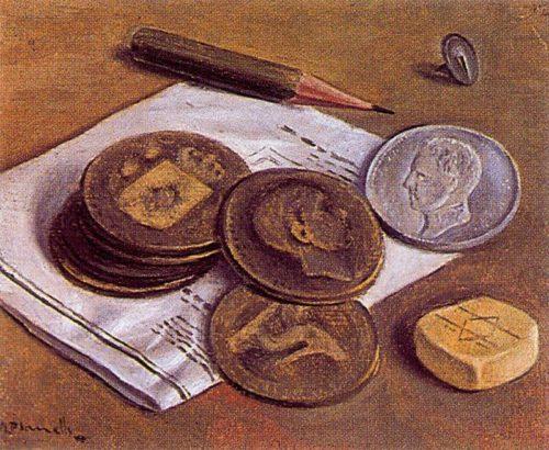 Анхель Планеллс, Монеты.