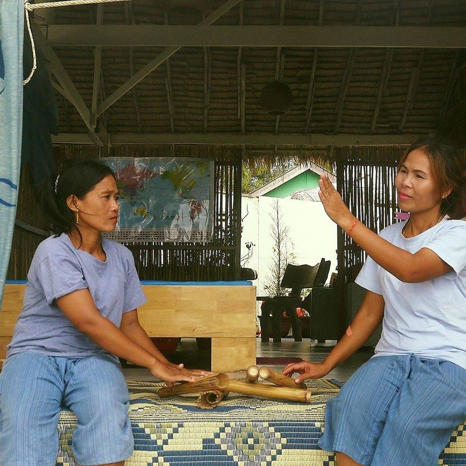 Камбоджа массажистки