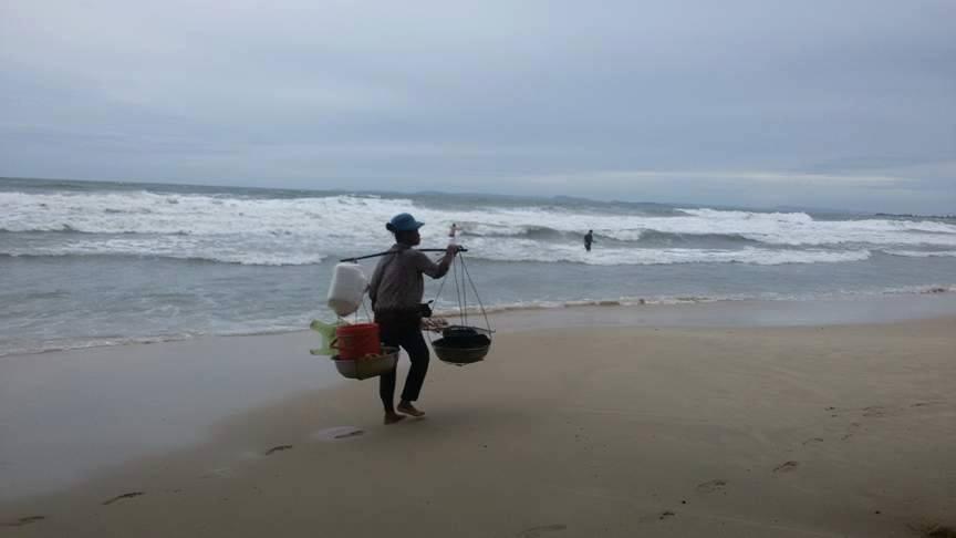 Камбоджа рыбак