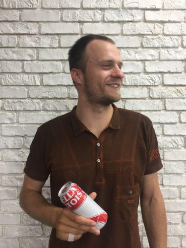 Станислав Рыбачук, глобальный стажер 2016 компании САН ИнБев, бренд менеджер Stella Artois и категории премиум