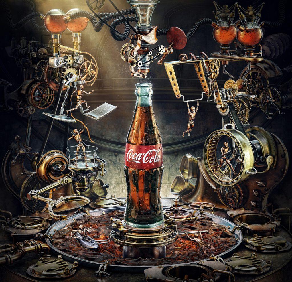 Александр Кусков, концепт Coca Cola Olympic Games, 2013