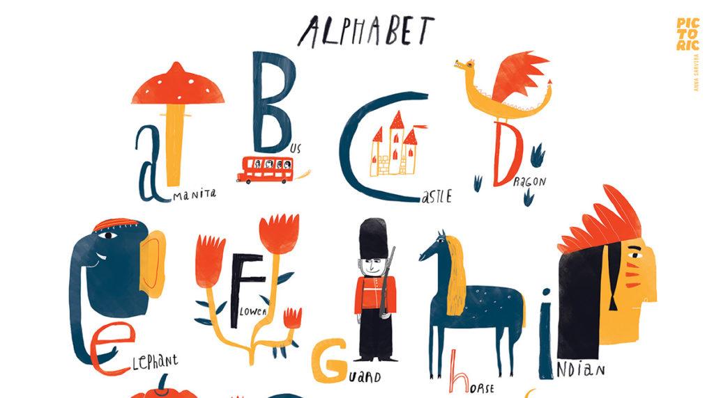 Анна Сарвира, Alphabet, 2015 год