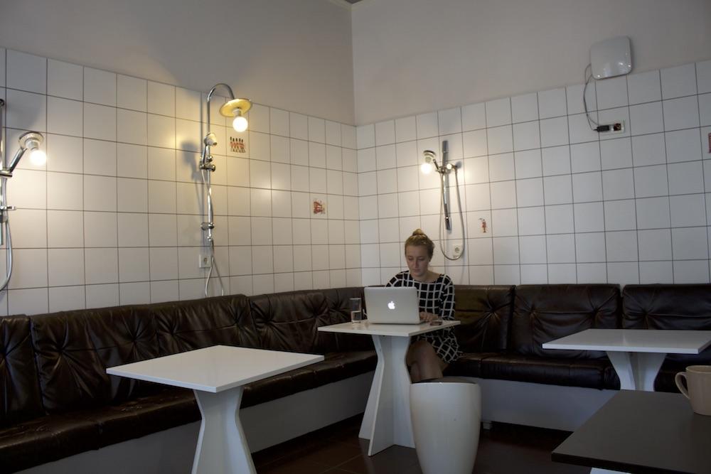 Комната «Ванная» в «Часописе», нижние этажи
