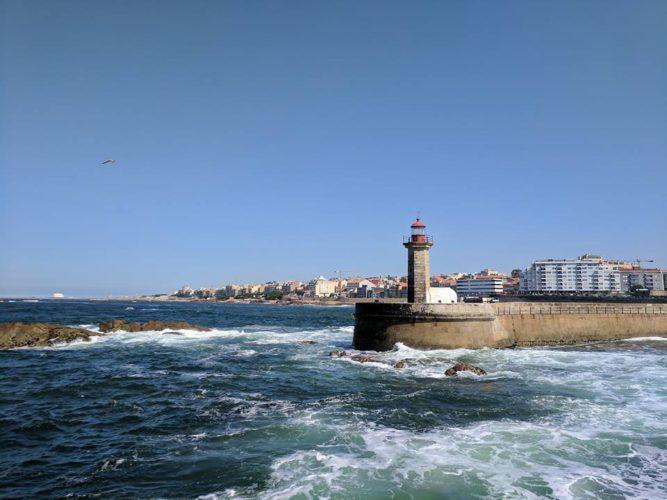 Маяк в Порту