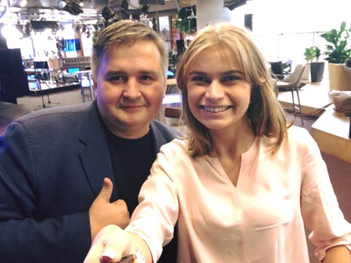Александра Струмчинская и Виталий Олинийчук