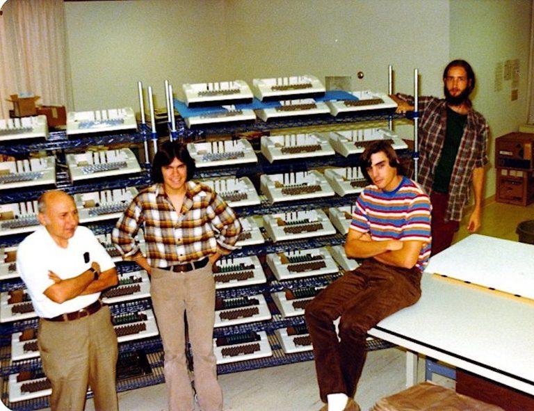 Команда Apple в вісімдесяті роки