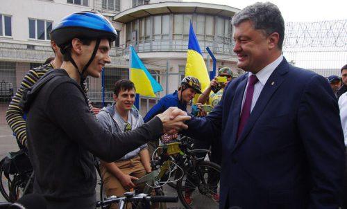 Петр Обухов и Петр Порошенко