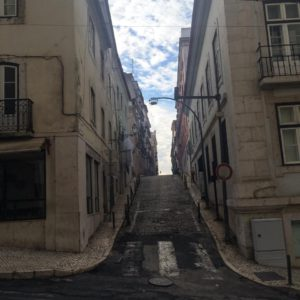 Старый район Лиссабона