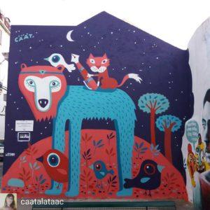 Стрит-арт в Лиссабоне