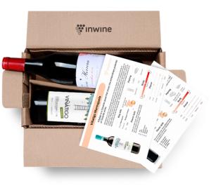 Коробка с вином от InWine