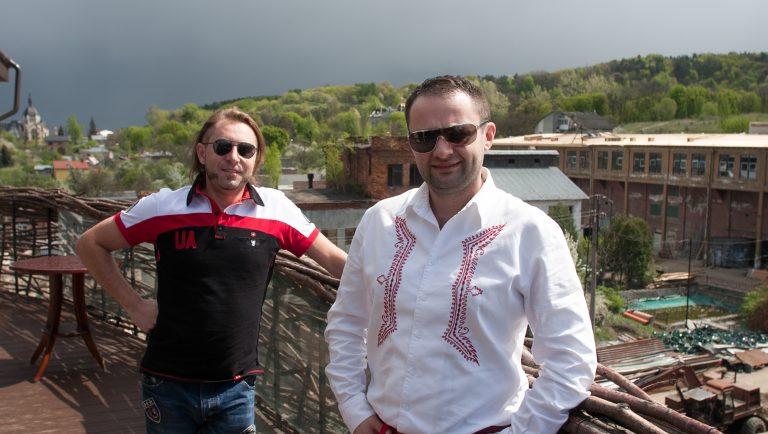 Андрей Худо и Юрко Назарук