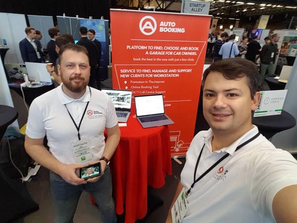 Как мы искали инвесторов на TechCrunch Disrupt в Берлине: команда стартапа Autobooking.com
