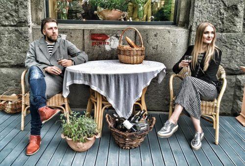 Сергей Дидковский и Маша Якуш