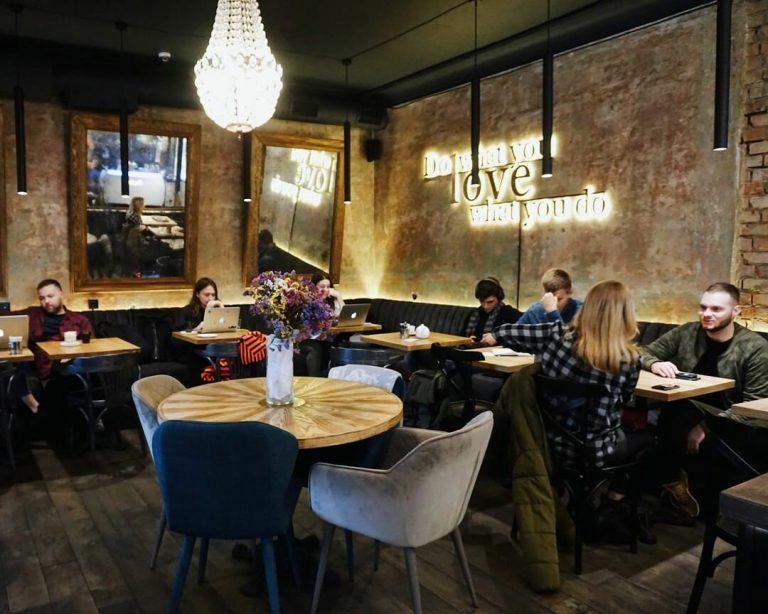 Десять уютных кафе и ресторанов Киева, где можно работать удаленно