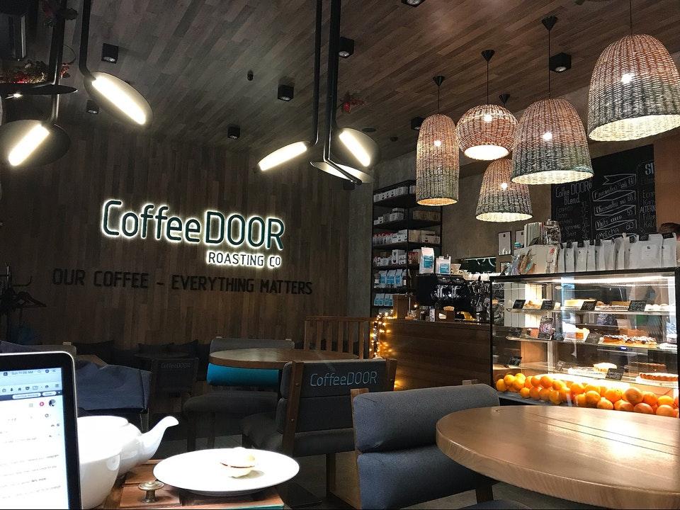 Интерьер CoffeeDoor
