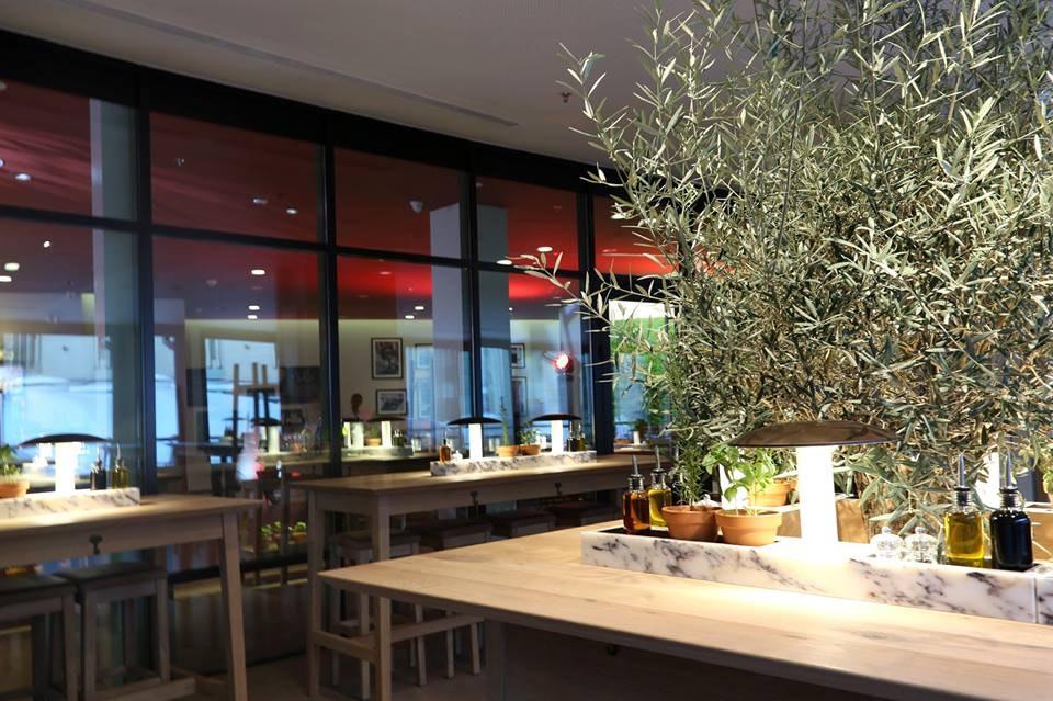 Интерьер кафе Vapiano