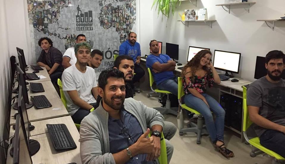 Занятие в филиале ШАГа в Рио-де-Жанейро