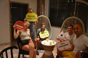 На открытии DREAM Hostel в Братиславе