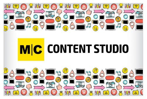Контент — это король. У журнала MC Today появилась собственная контент-студия