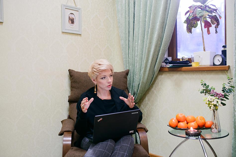 Коуч Лилия Горелая считает ноутбук Lenovo ThinkPad идеальной машиной для работы