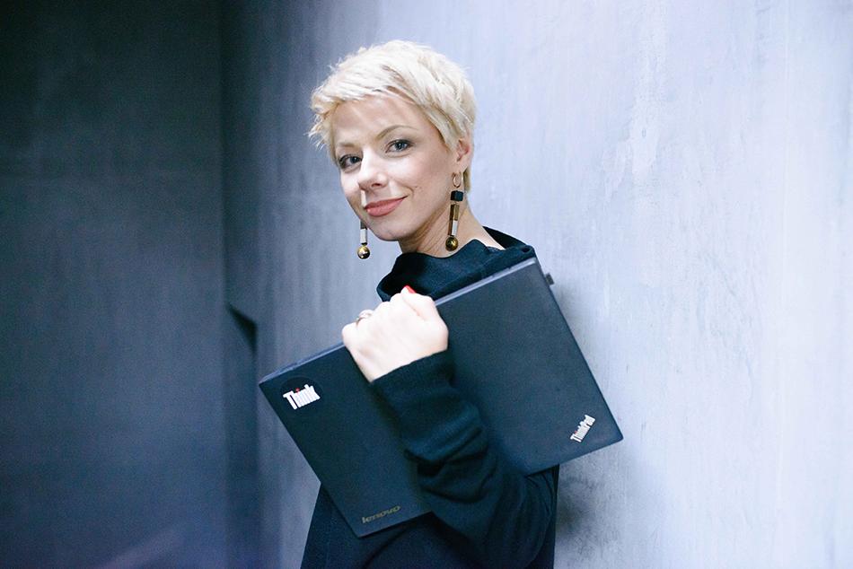 Лилии Горелой нужен был надежный и при этом легкий ноутбук. Lenovo ThinkPad оказался именно таким