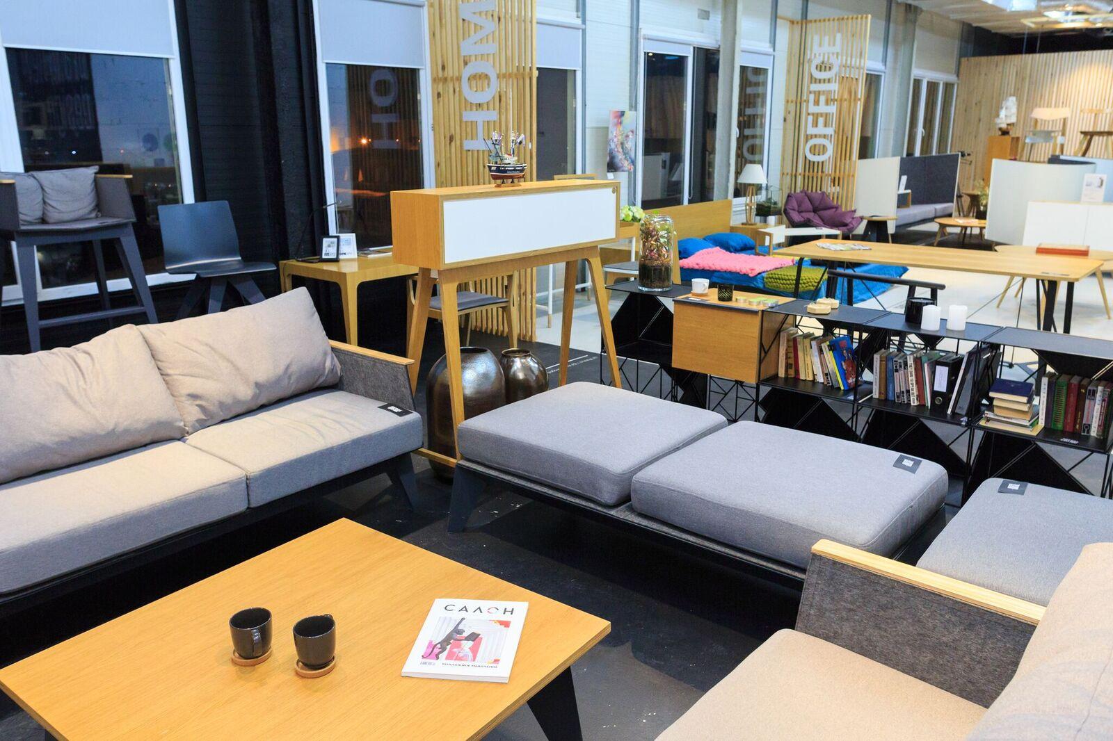 Мебель ODESD2 в киевском шоу-руме