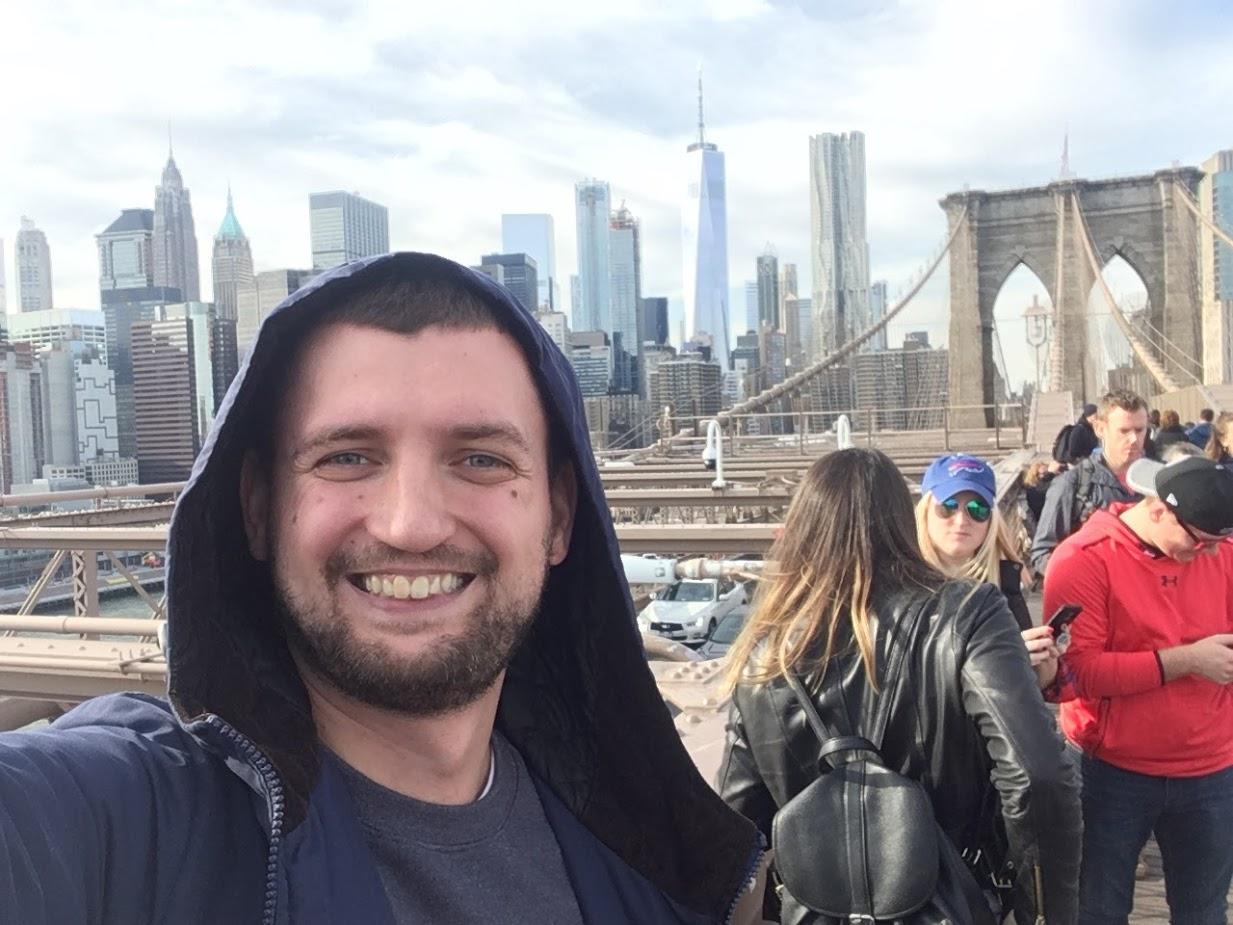 Виталий Сидоренко в Нью-Йорке