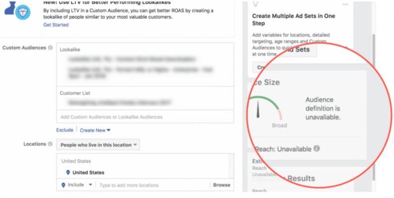 Настройки рекламной кампании в Facebook