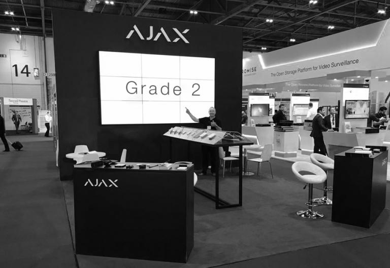 Стенд Ajax Systems на IFSEC International 2017 в Лондоне
