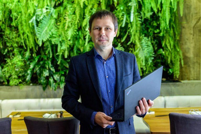 Николай Чумак уже 12 лет остается верен ThinkPad от Lenovo