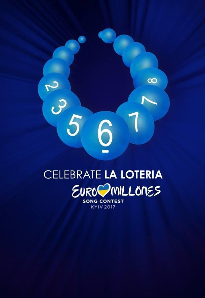Логотип «Евровидения» и шарики для лотереи