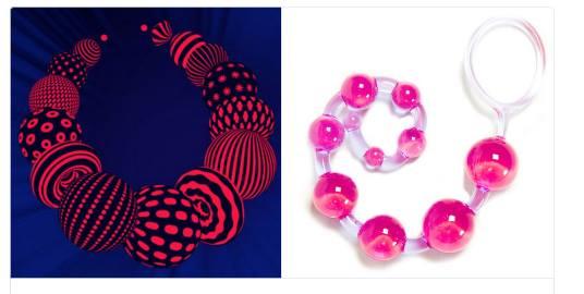 Логотип «Евровидения» и анальные шарики
