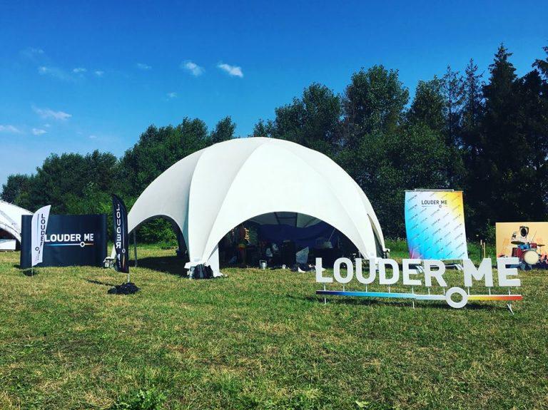 Сцена независимой музыки Louder.me на фестивале «Файне місто», 2017. Фото: Сергей Загорняк