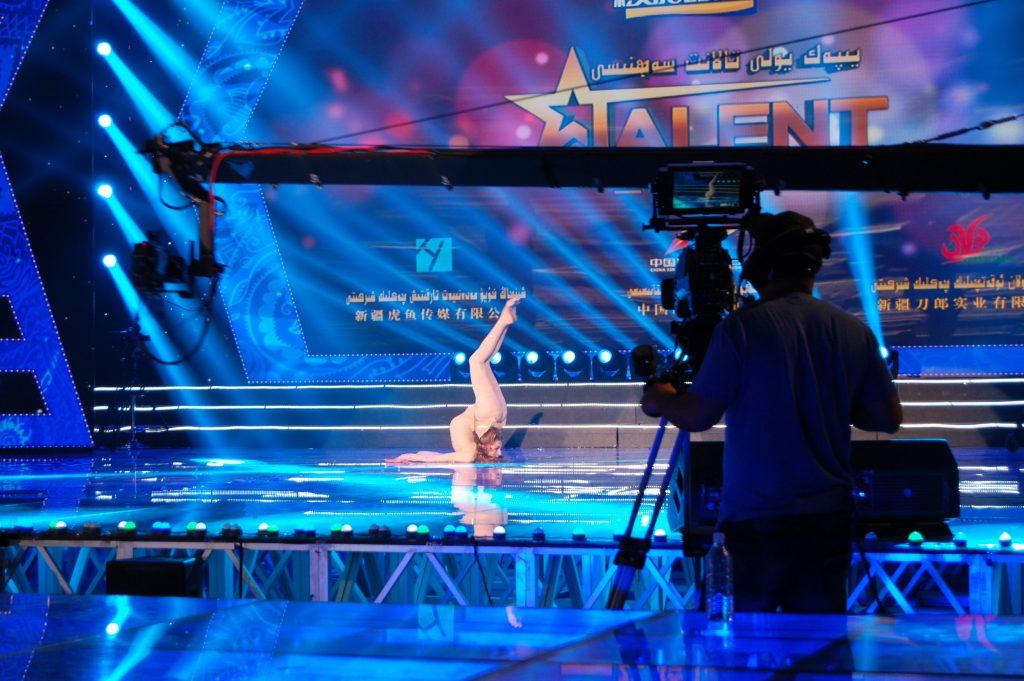 Настя участвовала в китайском шоу, по смыслу аналогичном с «Україна має талант»