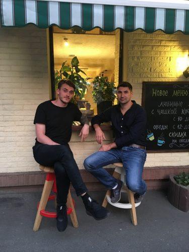 Александр Клевер (слева) и Роман Задирако, Signalayer