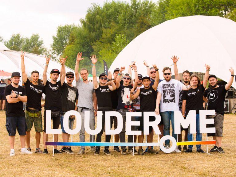 Команда Louder.me на фестивале «Файне місто», 2017. Фото: Сергей Загорняк