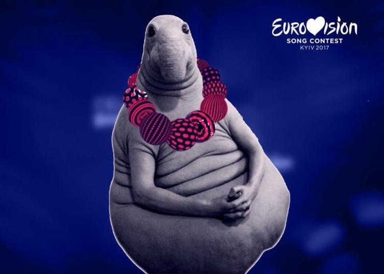 Логотип «Евровидения» и Ждун