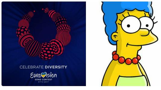 Шарж на логотип «Евровидения»