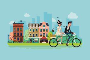 Велодорожки в городах