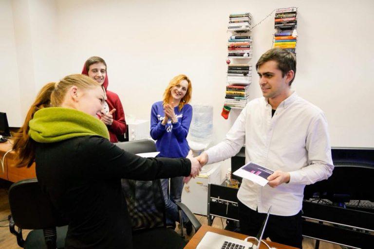 Никита Кравцов и Игорь Бессонов с учениками