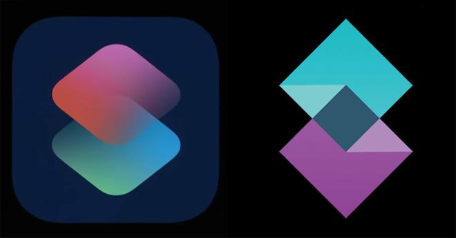 Стартап Shift требует от создателей iOS $200 тыс. за то, что логотип новой функции Apple Shortcuts очень напоминает их эмблему