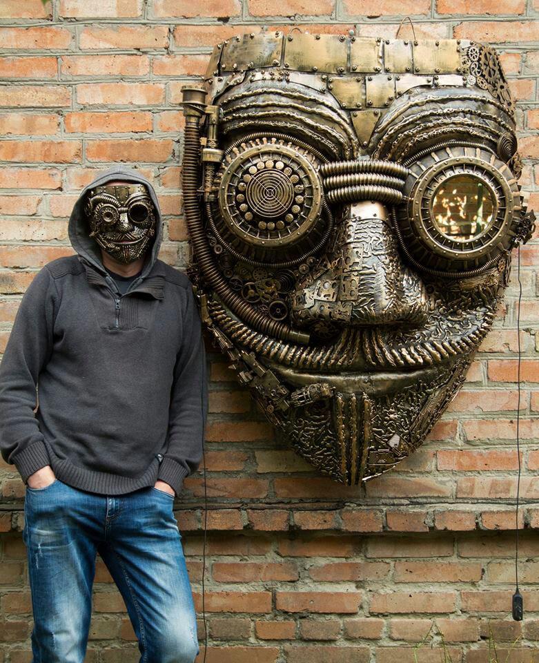 Большая маска