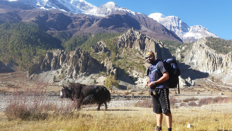Антон Петренко в Непале